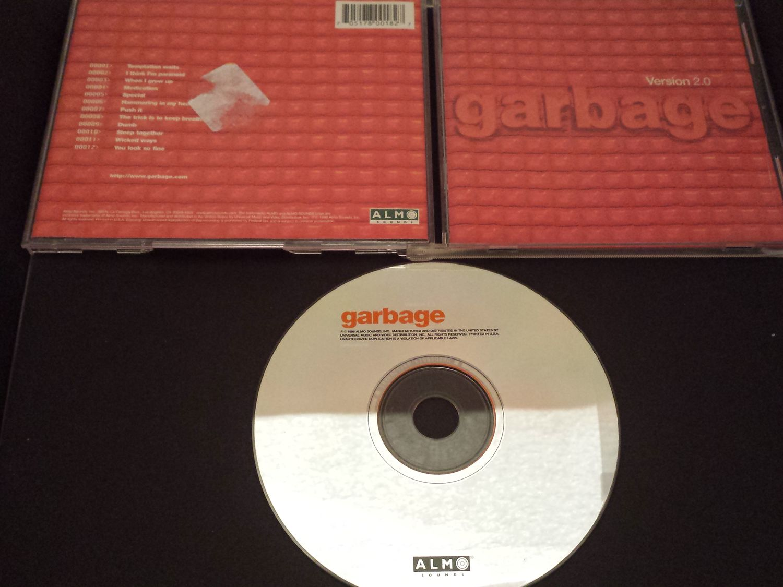 Garbage - Version 2.0 CD